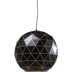 Pendant Lamp Triangle Black Ø60cm