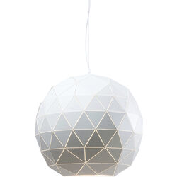 Pendant Lamp Triangle White Ø60cm