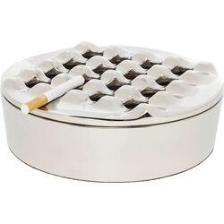 Ashtray Soho Round Silver