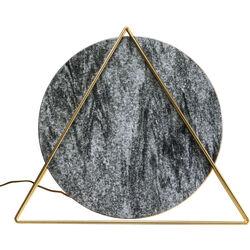 Table Lamp Triangle Marple Black