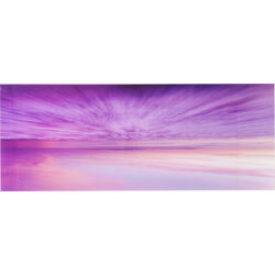Picture Glass Horizon Sunset 70x180cm