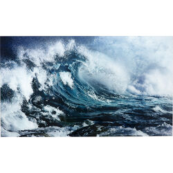 Picture Glass Wave 70x120cm