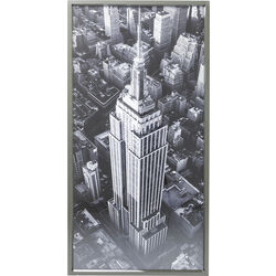 Quadro Frame Empire State Building View 166x86cm
