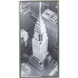 Quadro Frame Chrysler Building View 166x86cm
