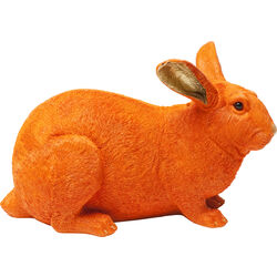 Money Box Rabbit Orange