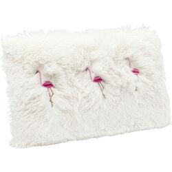Cushion Fur Flamingo 30x50cm