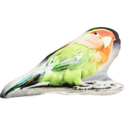 Cushion Shape Parrot 25x47cm