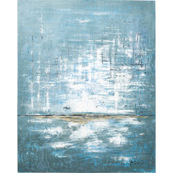 Acrylic Painting Abstract Blue One 150x120cm