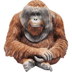Deco Figurine Monkey Orangutan Medium