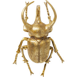 Wall Decoration Atlas Beetle Gold