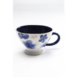 Coffee Cup Provence Flowers