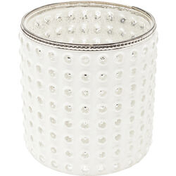 Tealight Holder Polar Dots 14cm