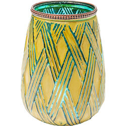 Tealight Holder Shangri La Stripes 22cm