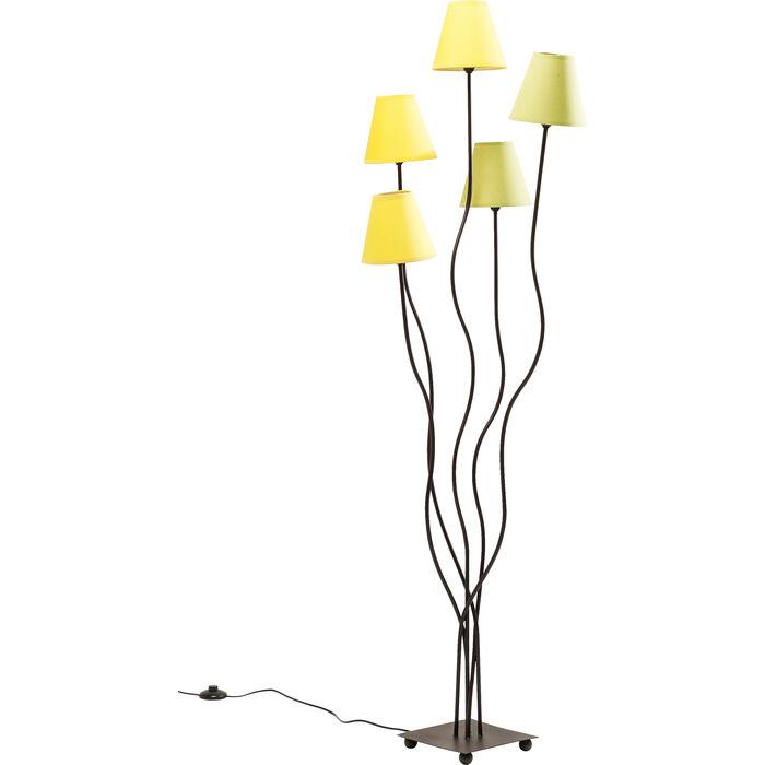 stehleuchte flexible lime cinque kare design. Black Bedroom Furniture Sets. Home Design Ideas
