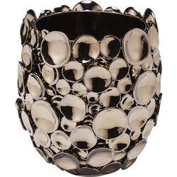 Vase Circles Copper 25cm