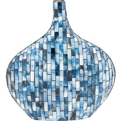 Vase Mosaico Blue 33cm