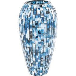 Vase Mosaico Blue 40cm