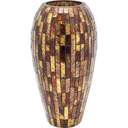 Vase Mosaico Brown 40cm