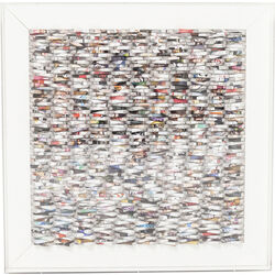 Deco Frame Paper Art 90x90cm