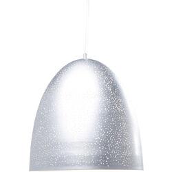 Pendant Lamp Firmamento Egg Silver Ø49cm