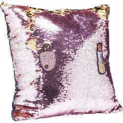 Cushion Pailette Applique  40x40cm