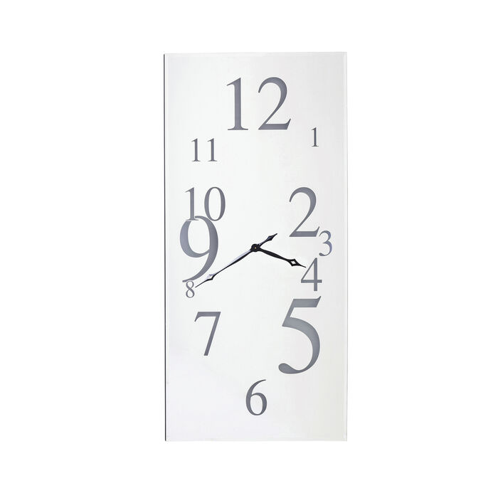 horloge murale wonderland led rectangulaire 160x8 kare design. Black Bedroom Furniture Sets. Home Design Ideas