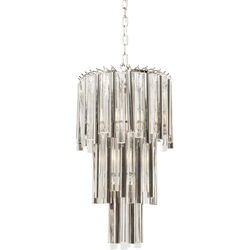 Pendant Lamp Palazzo Pole Silver Ø35cm