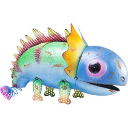Deco Figurine Dino Blue Head