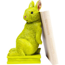 Bookend Rabbit Lime