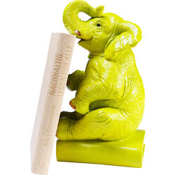 Bookend Elefant Lime