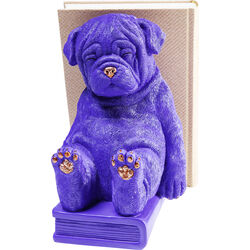 Bookend Dog Purple