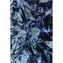 Picture Glass Diamonds  80x120cm
