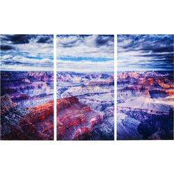 Picture Glass Triptychon Grand Canyon160x240cm (3/