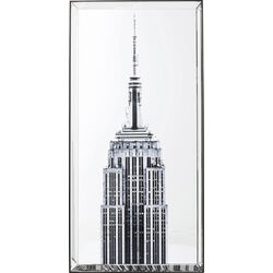 Picture Mirror Empire State Building 120x60cm