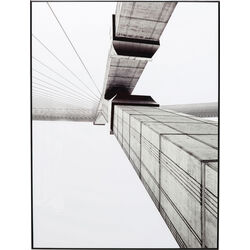 Картина в раме Bridge Two 80x60cm