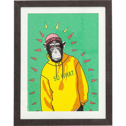 Picture Frame Gangster Monkey