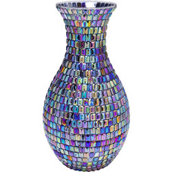 Vase Rainbow Diamonds 34cm
