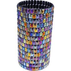 Vase Rainbow Diamonds Round 22cm
