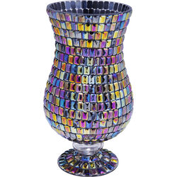 Vase Rainbow Diamonds Base 26cm