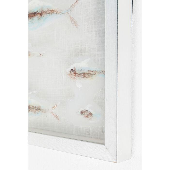 cadre d coratif shoal visible 100x100cm kare design. Black Bedroom Furniture Sets. Home Design Ideas