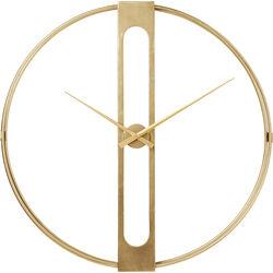 Wanduhr Clip Gold Ø107cm