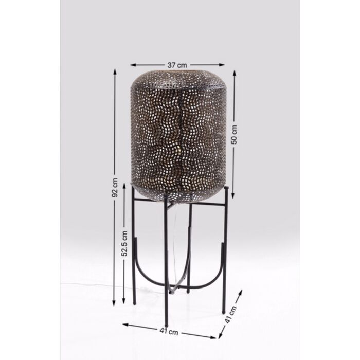 lampadaire oasis 92cm kare design. Black Bedroom Furniture Sets. Home Design Ideas