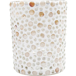Tealight Holder Pearls Big