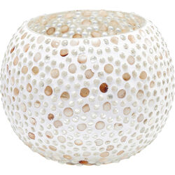 Tealight Holder Pearls Round