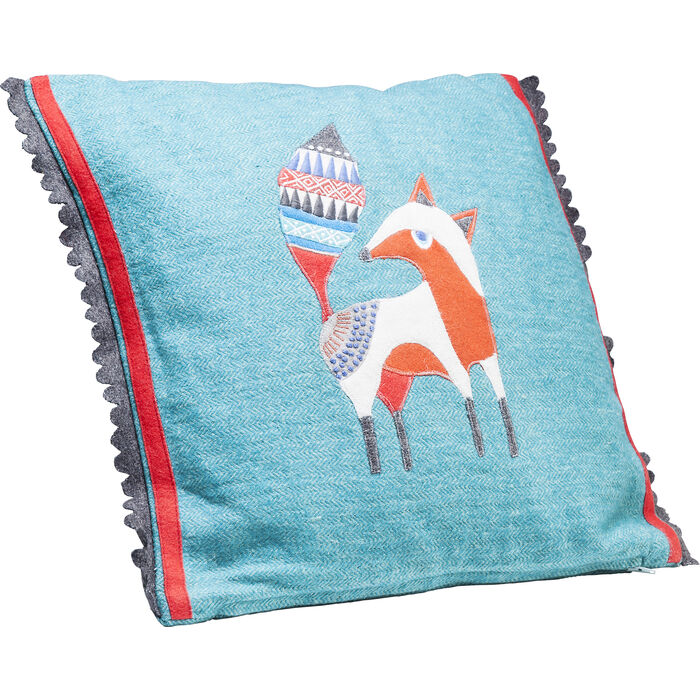kissen fairytale foxy 40x40cm kare design. Black Bedroom Furniture Sets. Home Design Ideas