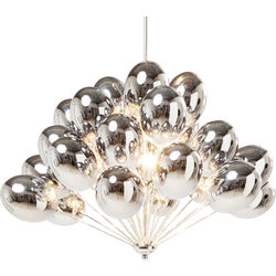 Suspension Silver Balloons
