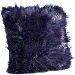 Cushion Ontario Fur Black 45x45cm