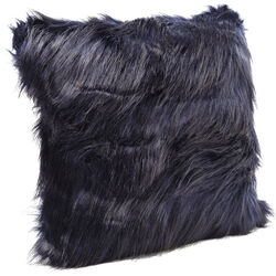 Cushion Ontario Fur Dark Blue 45x45cm