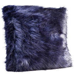 Cushion Ontario Fur Black 60x60cm