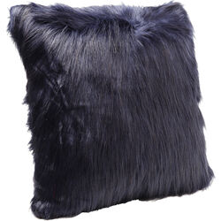 Cushion Ontario Fur Dark Blue 60x60cm